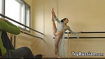 Russian Ballet Dancer Flashes Her Pussy preview image
