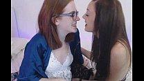 girls licking each other on cam. More cam girls at www.camslutparadise.com