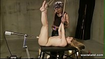 Decadent Duology Of Blonde In Bondage Submittin...