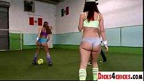 Dream soccer match and sex with dream-assed babes - dicks4chicks.com - download porn videos