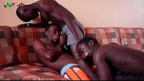 Black African On Blowjob Action