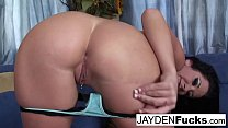 Jayden shows off her hot ass & fucks pornhub video
