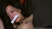 Free download video bokep Extreme slave Elise Graves tit tormented and el...