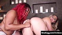 Fuck Sisters Nina Kayy & Ebony Thick Red Share ...