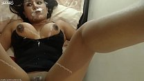 Big Tits Squirts In Her Own Mouth Preview