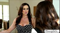 Caseys on her first girl to girl scene with MILF Kendra
