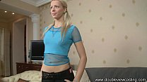 DOUBLEVIEWCASTING.COM - NASTIA HAS ORGASMIC ANA...