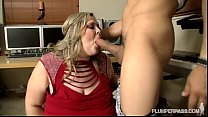 5615 Big Tit SSBBW Sings Into and Fucks Huge Cock preview