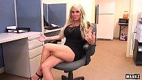 WANKZ- Porn Queen Holly Halston