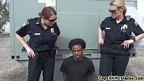 Black Stud Fucks Two Police Womenping-Tom-On-Our-Asses-Blackpatrol-Hd-72P-