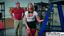 (August Ames) Sexy Big Tits Office Girl Love Hard Sex clip-04's Thumb