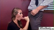 Slut Sexy Girl (Nicole Aniston) With Big Round Boobs In Sex Act In Office video-18 thumbnail