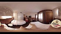 VR Porn Brunette fucked in a hotel room pornhub video