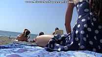 Public girlfriend fuck near the beach scene 3 [피어싱 piercing]