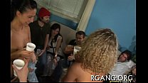 Males and gals on sex party Thumbnail