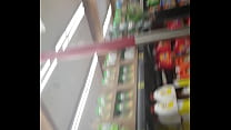 PAWG at Grocery Outlet showing the world her fa...