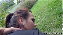 Czech babe smashed by pervert stranger Thumbnail