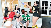 Three Gorgeous Latina Hotties Are Better Than Football and TV - Carolina Cortez, Tia Cyrus, Mandy Muse
