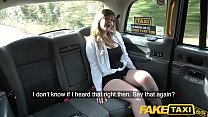 7582 Fake Taxi Busty passenger gives good tit wank and rides drivers big beard preview