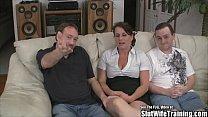 Slut Wife Fucks Three Guys for Hubby tumblr xxx video
