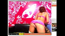 Hot redhead loves move ass and masturbate
