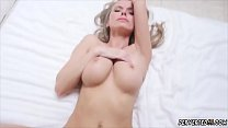 Step mom care and big anal first time Jane Doux in When Father Is