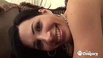 Pornstar Rebeca Linares Has Her Butthole Filled With Cock's Thumb