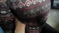 My girlfriend's big juicy ass thumb