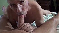 Old Cumlover Sucking Cock