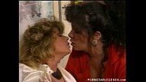 Tracy Adams eating hairy pussy in lesbain fun's Thumb