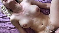 Super hot babe makes his cum twice - kinkycouple111 thumbnail