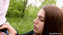 9296 MILF Blowjob and Cum Swallow Public - Cristall Gloss preview