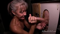 Milf Visits Glory Hole for First Time thumb