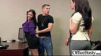 In Office Busty Slut Girl Fucks Hard Style (diamond kitty) vid-20 video