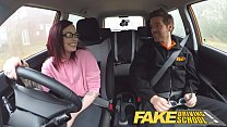 Fake Driving School American Teen Creampied by British Instructor - 9Club.Top