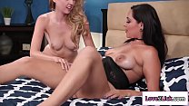Teen nurse lactates her milf boss
