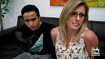 Step Son fucks his Step Mom with his Big Dick - Cory Chase