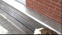 very risky fuck on the train station Vorschaubild