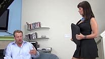 Wonderfull sexy slut takes a huge cock