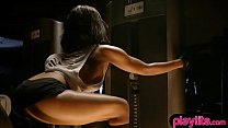 Fitness babes and muscle ladies have the best b...