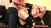 Puma Swede Gets Fucked by Big Dick! thumbnail