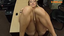 Small tits babe screwed at the pawnshop