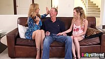 Little nanny Angel Smalls shares big cock with Julia Ann - 9Club.Top