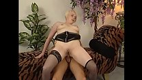 Milky skin slut in stockings gets pounded with ...