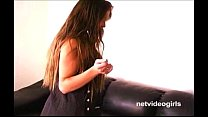 17611 Sultry brunette amateur Violet dirty talks her way through a real nasty POV BJ preview