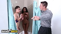 BANGBROS - Juan El Caballo Loco Fucks His Black Stepmom Diamond Jackson