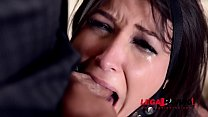 Curvy submissive Akasha Cullen gagged, spanked & Hardcroe double penetrated GP886 Preview