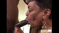Black Granny Gets Some Young Cock pornhub video