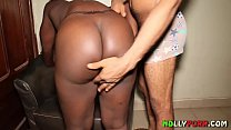 14703 Big Black Ass African Girl From Congo Twerk And Got Fucked - NOLLYPORN preview