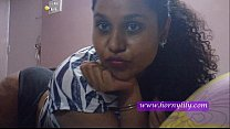 indian babe lily on webcam showing ass and tits preview image